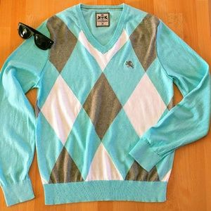 Express Men's Argyle sweater